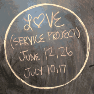 Love (Service Project 2014)