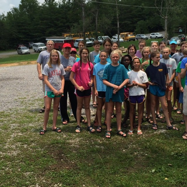 Middle School Mission Trip Update: Monday