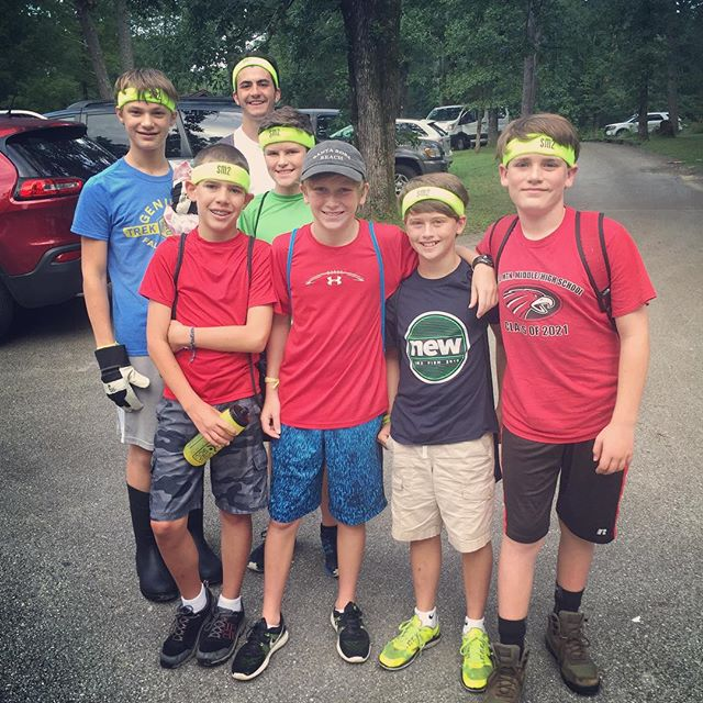 Middle School Mission Trip Update: Friday