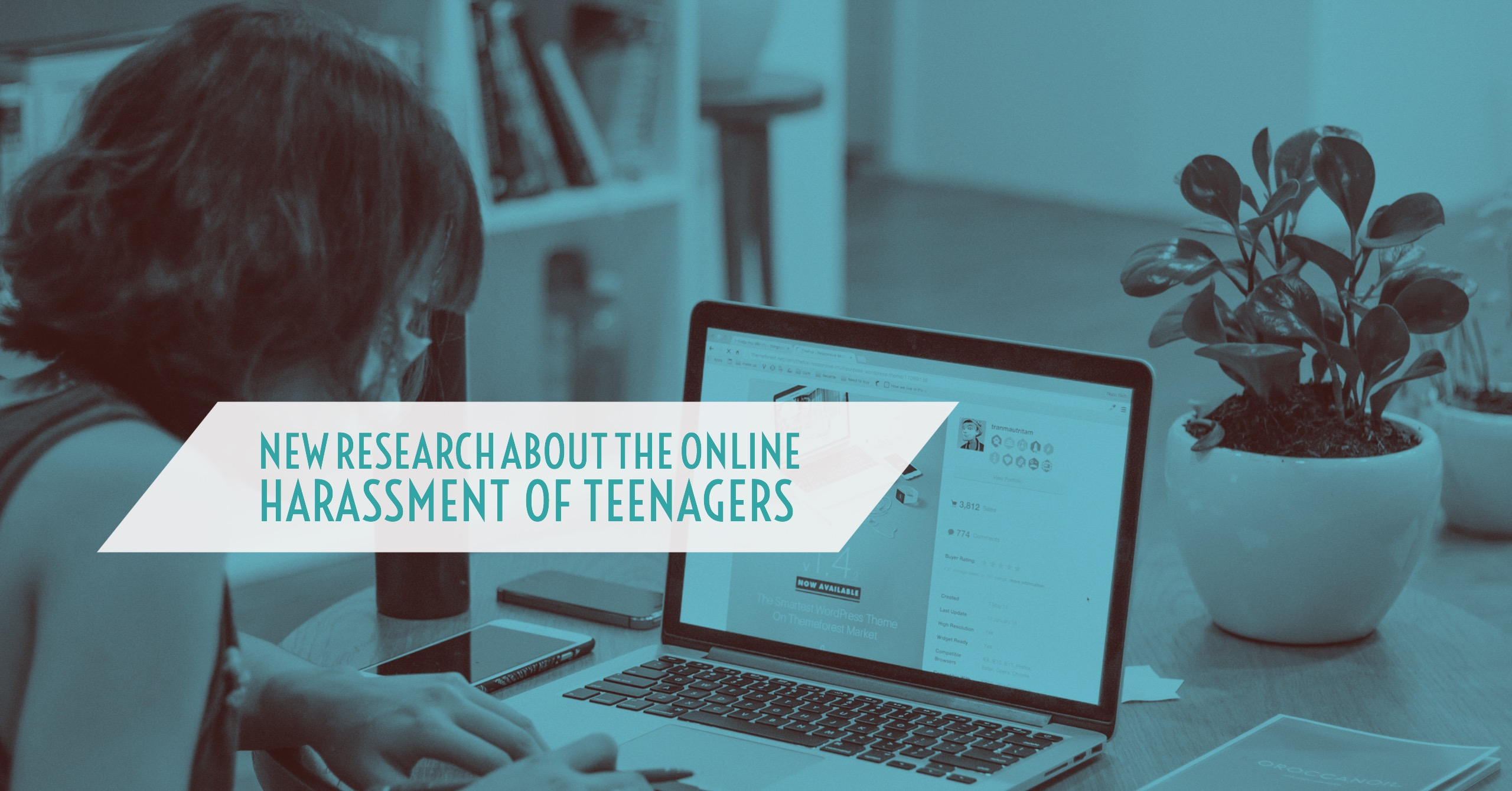 New Research About the Online Harassment of Teenagers