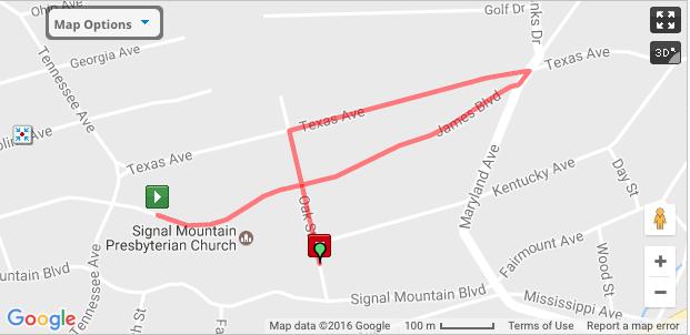 Old Town Runaround: One Mile