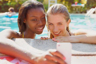 For Teenage Girls, Swimsuit Season Never Ends 98