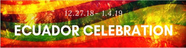 Ecuador Celebration 2018