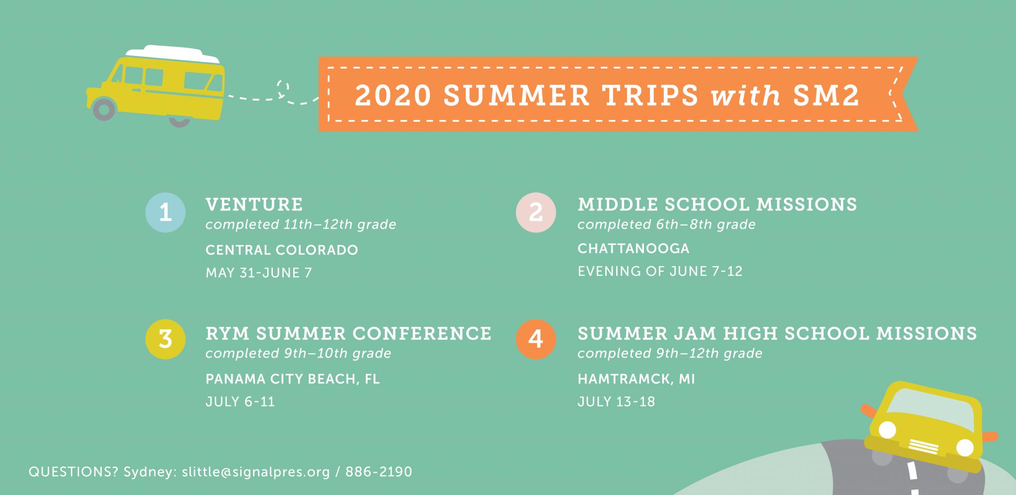 Summer Trips 2020